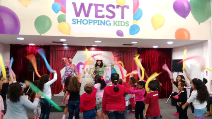 West shopping kids
